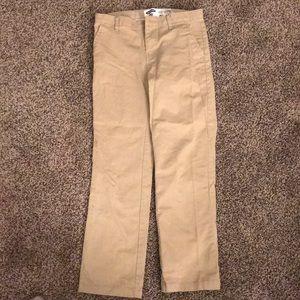Youth boy khaki pants